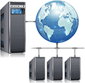 Server VPN Netzwerke Fujitsu Siemens